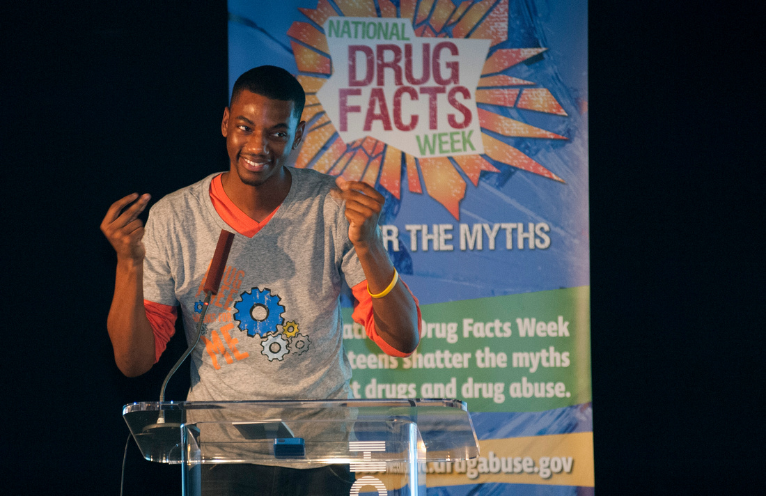 Jermaine Crawford, National Drug Facts Day