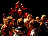 Edison supporters hugged and consoled players after the Battle of the Birds varsity field hockey game at Hayfield on September 29, 2010.