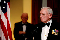 Ret. Gen. John R. Dailey, director of the Smithsonian's National Air and Space Museum, was the guest of honor at the 64th Annual George Washington Birthnight Supper and Ball at the Mount Vernon Inn on