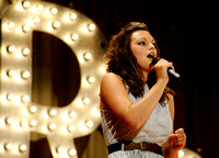 Shelby Ringdahl sings during the talent show portion of the benefit.[final11]