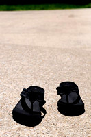 IRENE ROJAS/MissourianRock Bridge High School student Erin Greer said she wears flip-flops daily when the weather is warm despite warnings from doctors that the footwear poses health risks because of
